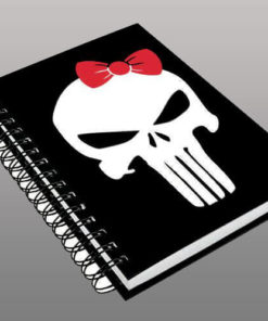 Caderno Sister Punisher