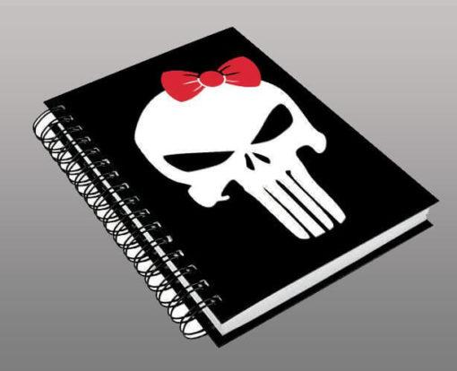 Caderno Sister Punisher