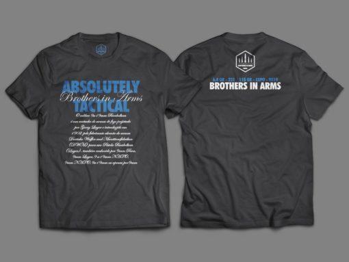 "Camiseta Unisex ""Absolutely Tactical"""