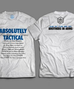 Camiseta Branca Unisex - Absolutely Tactical