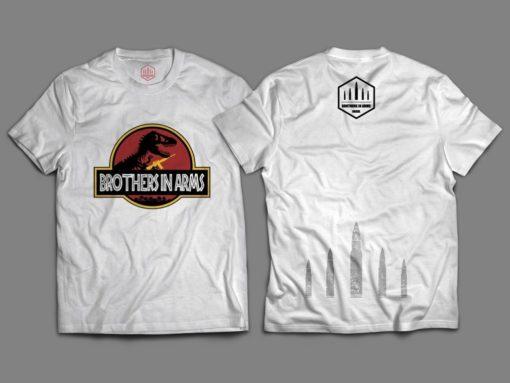 """Camiseta Unisex """"Jurassica Brothers"""""""