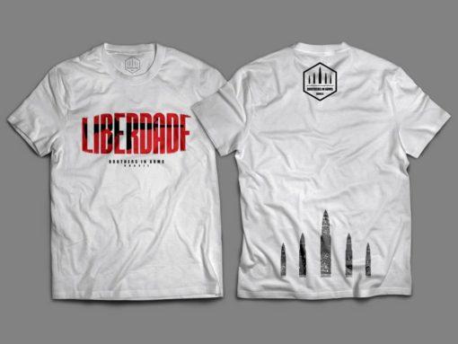 """Camiseta Unisex """"Liberdade"""""""