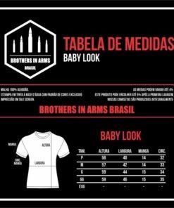 Tabela de Medidas Babylook