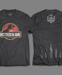 Camiseta Preta Jurassic Brothers